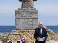 18 JUIN 2021 – Discours du général Antoine Martinez à l'Ile de Sein